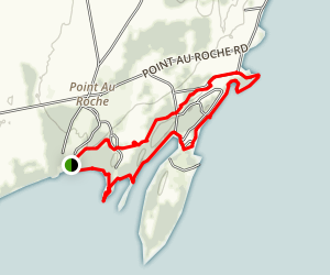Conner Bay and Ram's Head Loop Map