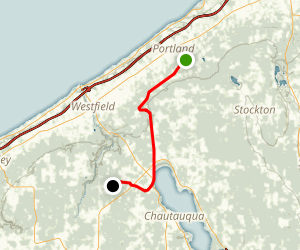 Chautauqua Alison Wells Ney Trail Map