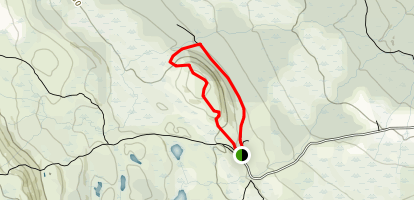 Bjørnhovdan Trail Map