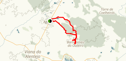 Aguiar-Outeiro Trail Map