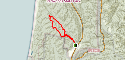Clintonia Trail Loop Map