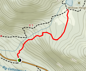 Willow Heights Trail Map