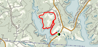 Seven Oaks Preserve Trail Map