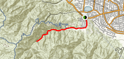 Tin Mine Canyon Trail Map