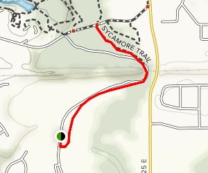 White Lick Creek Trail Map