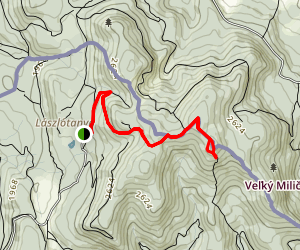 Karolyi-kilato Trail Map
