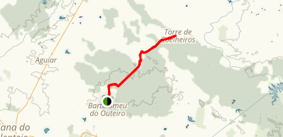 Outeiro to Torre MTB Trail Map