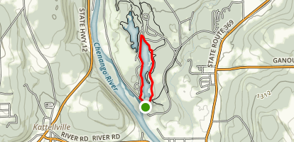 Towpath Trail Loop Map