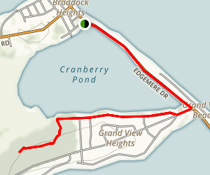 Cranberry Pond Map