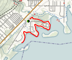 Western Waterfront Trail Map