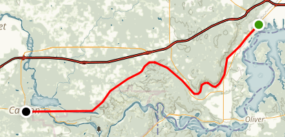 William Munger State Trail Map