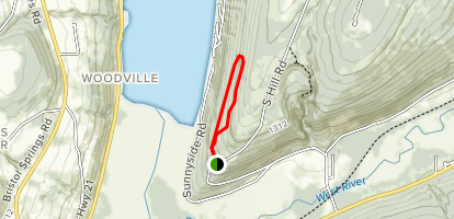 Nundawao - The Great Hill Preserve Trails Map