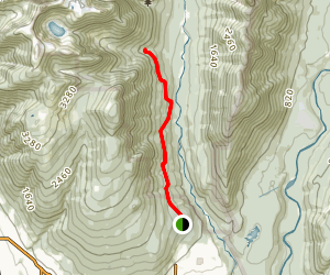 Ceder Tree Trail and Kennedy Falls Trail Map