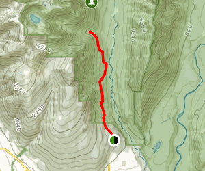 Cedar Tree Trail and Kennedy Falls Trail Map