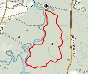 PEA Red Trail Map