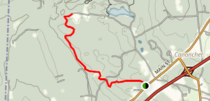 Canonchet Trail (Narragansett Trail Extension) Map