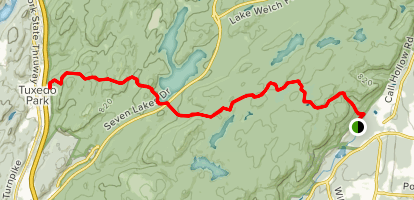 Torne Mount Ivy Trail Map