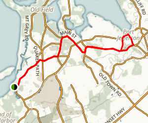 Stony Brook - Port Jefferson Ride Map