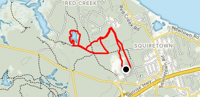 Penny Pond Loop Trail Map