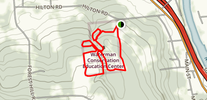 Waterman Conservation Education Center Map