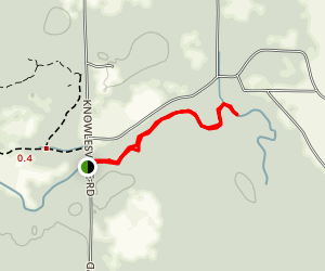Oak Orchard Creek Map
