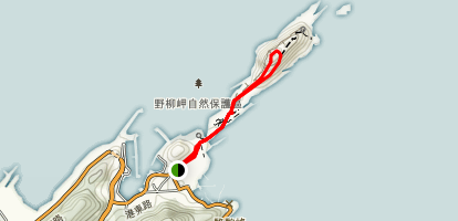 Yehliu Geopark Map