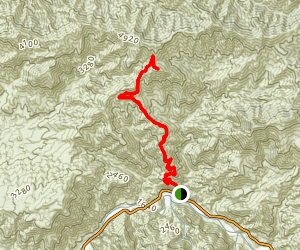 Mount McKinely (CLOSED) Map