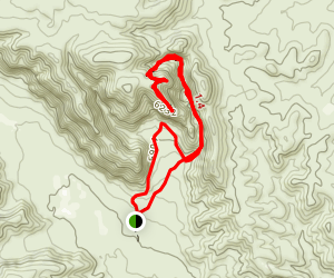 Tent Rocks Trail Map