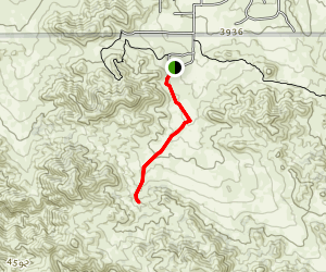 Black Rock Canyon Trail Map