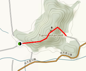 Tianmashan Map