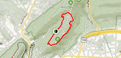 Hot Springs Mountain Trail Map