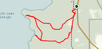 Welaka State Park to Orange Point Loop Trail Map