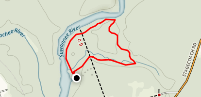Lime Spring Trail Map