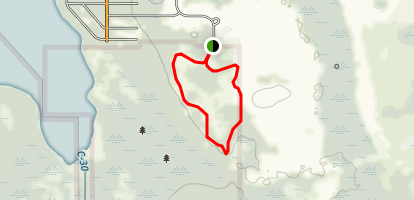 Isle of Pine Blue Trail Map