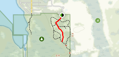 Isle of Pine Red Trail Map