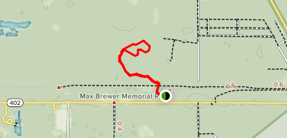 Royal Palm Hammock Trail Map