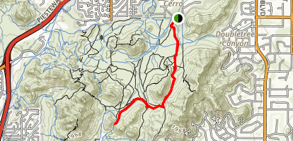 L.V. Yates Trail (#8) Map