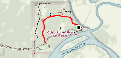 Ochlockonee River State Park Trail Map