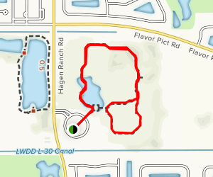 Green Cay Trail Map