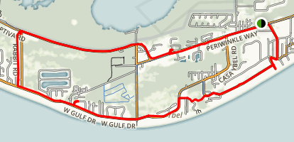 Sanibel-Captiva Ride Map