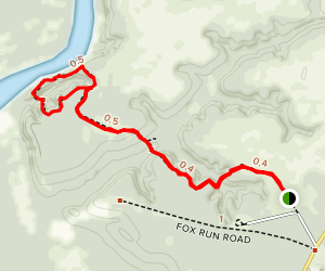 Garden of Eden Trail Map