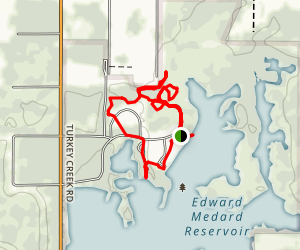 Medard Park Trail Map