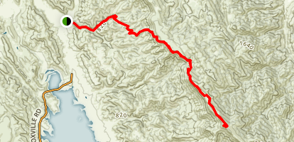 Berryessa Peak Trail Map