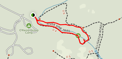 River Sink Trail Map