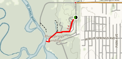 Blue Spring Campground Map