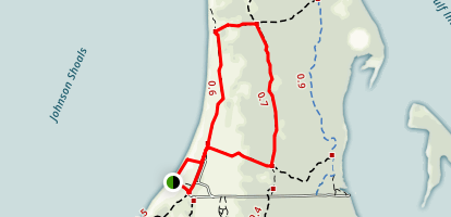 Cayo Costa Loop Trail Map
