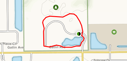Barber Park - Loop Map