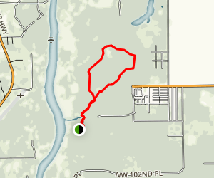 Manatee Springs Scenic Trail Map