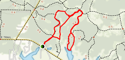 Western Lake Loop Map