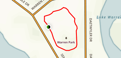 Warren Park Map